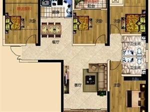 正恒帝景4室2厅2卫88.76万元