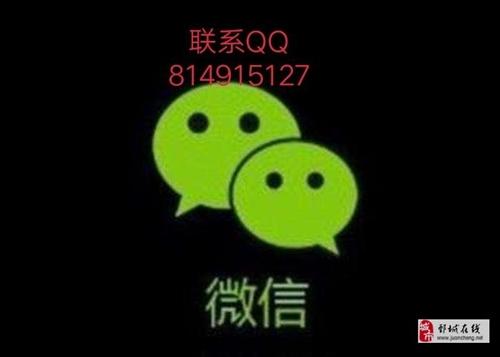 个人微信号回收联系QQ814915127