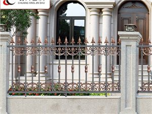 鋁藝別墅大門對開門庭院門/鋁藝護欄/圍欄/梓鋼護欄