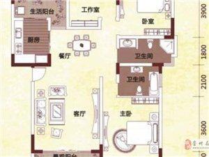 唐人街3室2厅2卫1200元/月