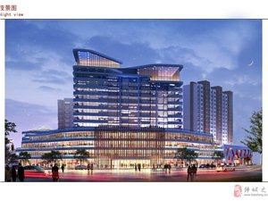 韓城最大的購物中心億晨國際購物中心盛大招商了