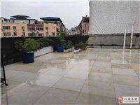 龙水河附近,三楼,带屋顶花园,套三双卫