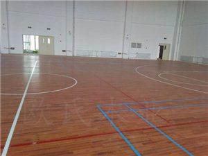 浦城运动木地板 篮球运动木地板施工