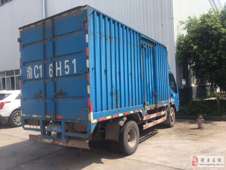 江淮箱式貨車(正常使用的車,因買了小卡)