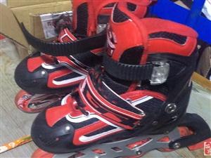 出售95成新儿童滑冰鞋,带夜灯