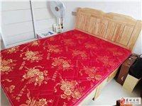 出手全新实木新床+床垫