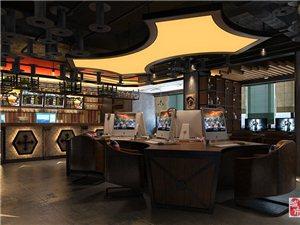 重慶合川網吧網咖裝修設計好的公司是貳春設計幫您