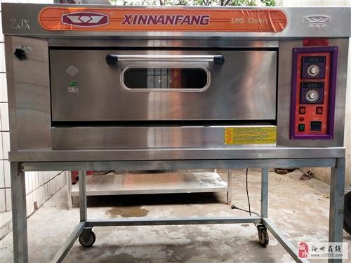 出售九成新新南方一层燃气烤箱一台