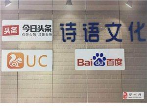组建自媒体团队加盟郑州诗语自媒体公司