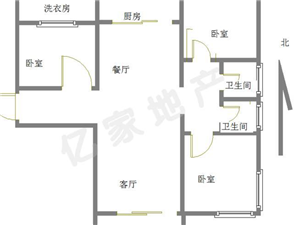邹城碧桂园140平3室2厅2卫88万,可以贷款