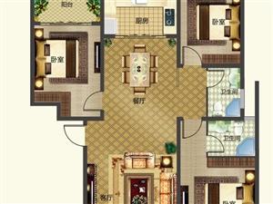 C户型/三室两厅两卫