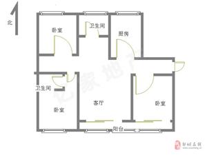 鸿顺御景城精装修3室2厅2卫112万,好楼层可贷款