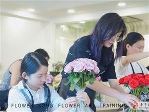 學花藝哪里好?花藝培訓班花之歌花藝培訓中心