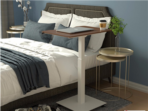 可移动升降电脑桌,床边桌,沙发懒人桌,上门安装