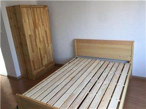 出租房简易双人床,衣柜,沙发,餐桌,茶几等