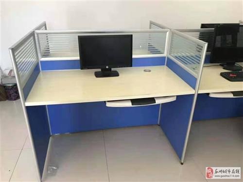 本人有二手办公桌四张处理