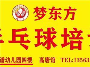 9.9元搶原價199元的乒乓課—夢東方乒乓球高唐館