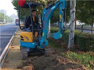 溧陽華成小挖機,金壇小挖機出租,武進小挖機出租