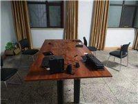 出售9成新会议桌带6把椅子