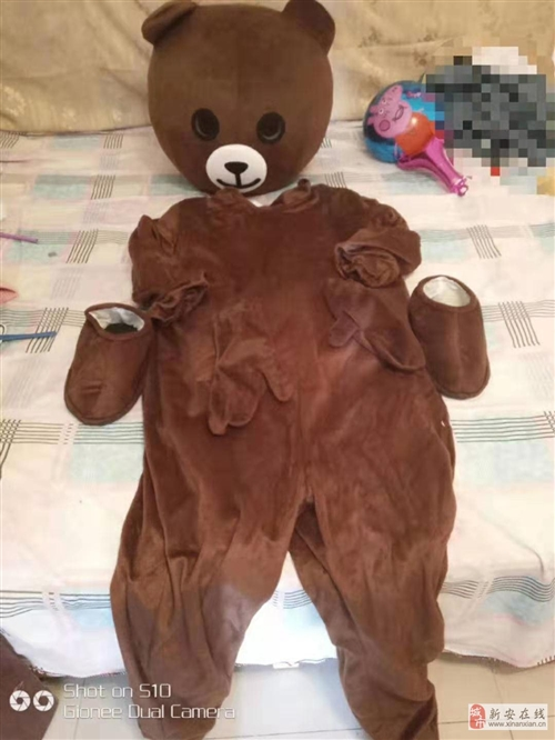 轉讓布朗熊衣服一套