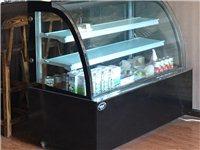 出售咖啡馆、奶茶店必二手设备,冰箱+操作台+展示柜
