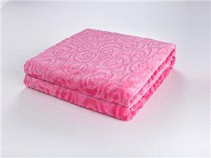 馨格家居法蘭絨繡花毯