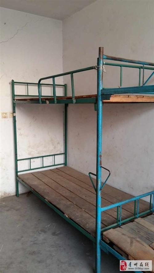 低价出售双层床二手学生床