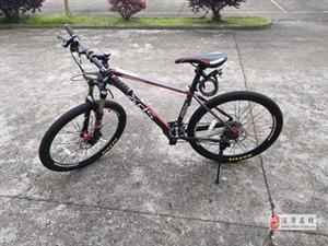 8成新喜德胜30速自行车出售