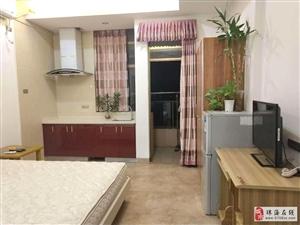 州際新天精裝公寓1房家私家電齊全拎包入住視野開闊中澳新城