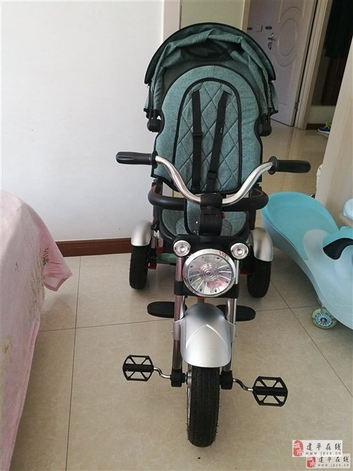品牌兒童手推三輪車,95新,260出售