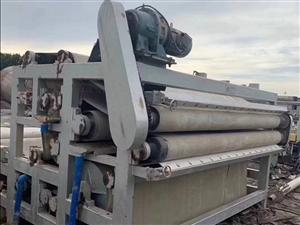 巩义中小型带式压滤机泥沙脱水机污水处理设备