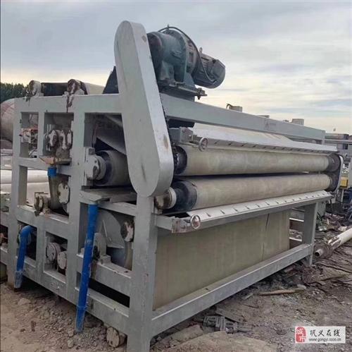 鞏義中小型帶式壓濾機泥沙脫水機污水處理設備