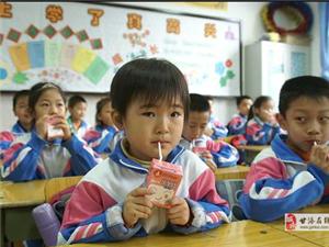 """蒙牛的""""中國學生飲用奶計劃"""""""