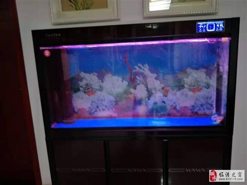 鱼缸转让高1.5米,长1.3米,宽0.4米