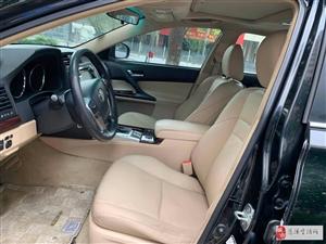【C005】2010款豐田銳志,僅售11.98萬