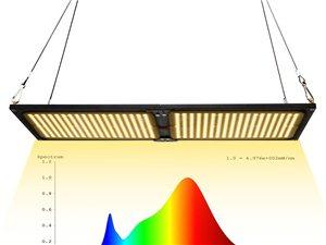 無限拼接大功率量子板植物生長燈301B加紅光