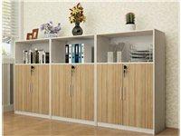 转让办公家具文件柜矮柜木质储物柜办公收纳柜茶水柜