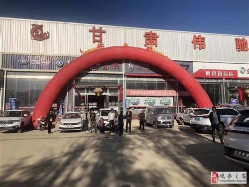 岷县伟驰汽车销售服务有限公司
