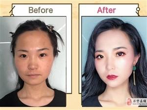 化妝前后對比,堪比換頭!