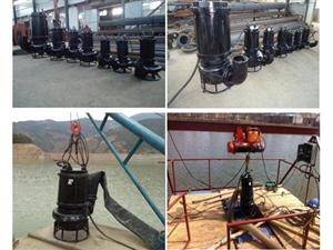 潛水無堵塞采沙泵 管道清理泥沙泵·