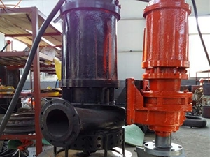 電動高揚程排沙泵 河道清理高濃度污泥泵