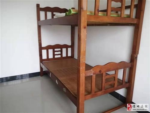 双层实木架子床转让