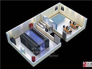 长沙高性能数据机房效果图制作 3D别墅户型图制作