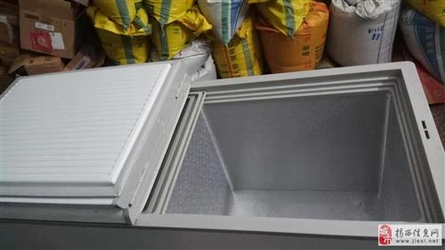 由于店铺转型,出售95成新海尔商用冰柜268升