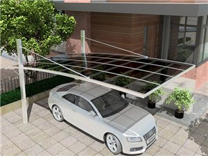 信阳雨棚车棚安装,电动遮阳篷雨篷订做,隔断围栏护栏