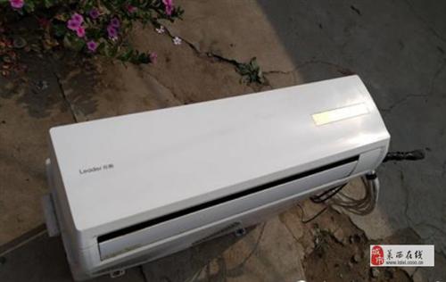 701元/出售一臺五六年的海爾統帥*定速空調