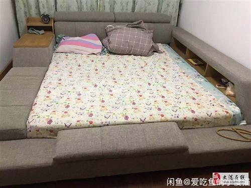 尤氏洛蒙双人床+床垫