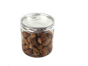 花茶罐坚果罐定制食品包装罐厂家pet塑料罐