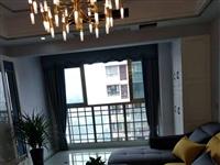 星河国际电梯房三室豪华装修家具电器全齐,带车库出售