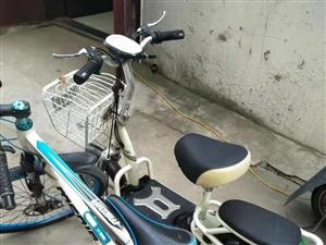 电车和山地自行车